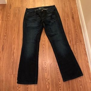 Miss Me bootcut jeans pants bottoms size 31
